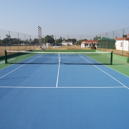Outdoor multi-purpose vinyl sheet sports